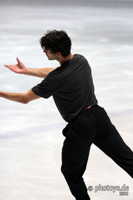 beautiful-shapes:  Stéphane Lambiel in Oberstdorf