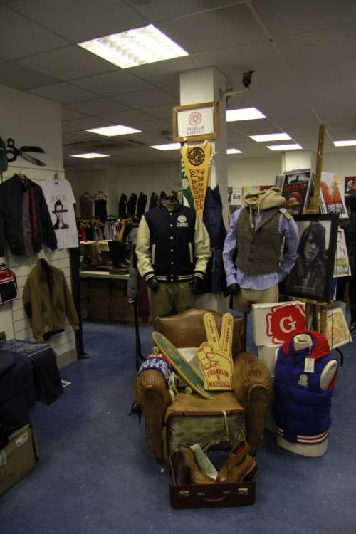 yesterdays pop up shop at leeds university union.