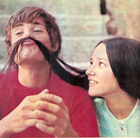 dyingofcute:  Leonard Whiting & Olivia Hussey - 1968 Romeo and Juliet