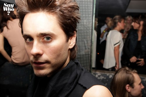fuck-yeah-jared-leto:  Givenchy Aftershow Party At l'Arc - Paris Fashion Week - 2nd October 2011