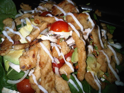 "Vegan ""chicken"" salad"