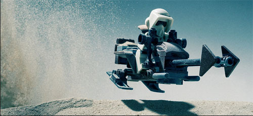 totalfilm:  Incredible Star Wars Photography Unbelievably detailed photos of Star Wars toys by Avanaut. And there are loads more amazing snaps here…