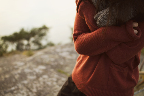 lovingmeiscrazy:  When it gets cold <3