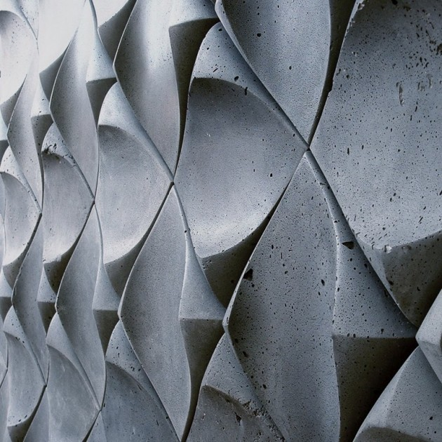 ruthmellor:  Dune Wall by UrbanProduct.  Just a little bit of a different type of wall tile!