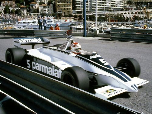 Nelson Piquet, Monaco Grand Prix, 1981. Here driving the Brabham BT49.
