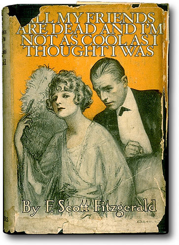 betterbooktitles:  F. Scott Fitzgerald: This Side of Paradise Reader Submission: Title and Redesign by Keenan Cross.  Doesn't this sum up all of his books?