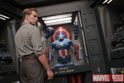 Captain America in The Avengers