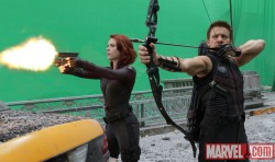 Black Widow & Hawkeye in The Avengers