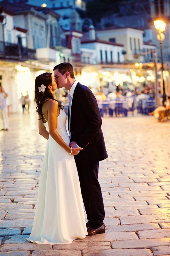J. Cogliandro Photography on the island of Hydra in Greece Wedding in Greece.  That's where I want to go for my honeymoon.  Where would you guys like to go for your honeymoon?