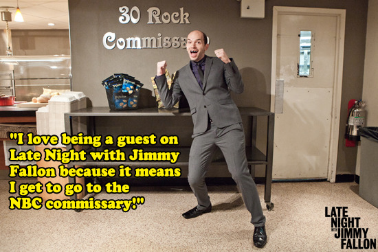 latenightjimmy:  Go with Paul Scheer on a journey through the NBC Commissary!