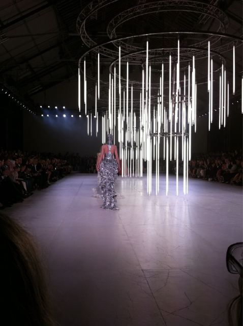 "wmagazine:  ""Pure excess at McQueen! Silver finale"" - @WmagKarla Follow W editors' on Twitter and Tumblr for                           ongoing  Spring/Summer 2012 coverage."