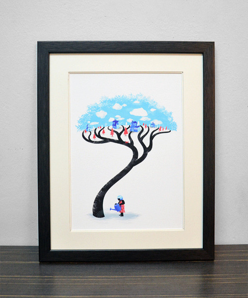 """Neighborhood Irrigation"" Limited edition art prints By Tang Yau Hoong: Website 