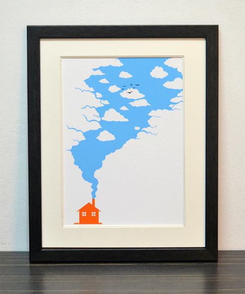 """Eco Friendly"" Limited edition art prints. By Tang Yau Hoong: Website 