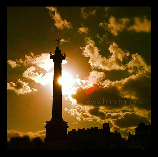 La Bastille, Paris, France. Email Us / Check my Portfolio / Follow me on Facebook / Follow me on Twitter / Follow me on Instagram /