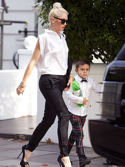 rocmysoul:  Gwen Stefani looking fierce as usual!  no no callate. ese niño.