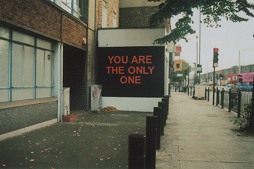 nevver:  You Are The Only One