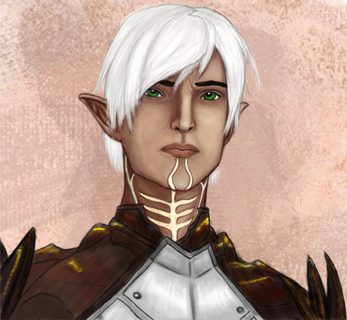 Have a Fenris! Yeah I know.. it's Sten week or something. I just… I couldn't help it. I HAD to draw a Fenris. I was so inspired after watching those ryuuka-nagare vids that my muse wouldn't let it go. This is as close to a speed painting as I get though, LOL. I am not very happy with it, but meh.. here it is! Also can be found on my Deviantart: Arquen