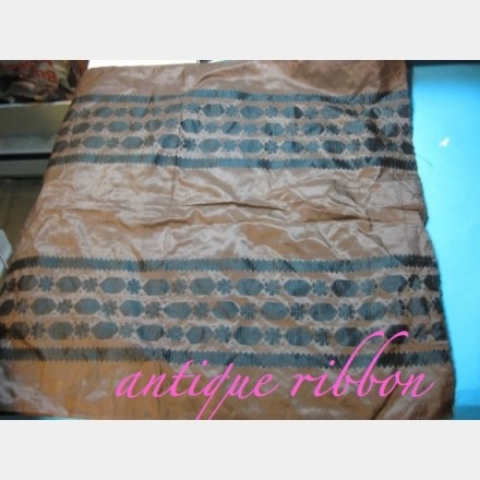 Check out this gorgeous Civil War era Antique fabric silk yardage!! This fabric could be perfect for your own wedding gown!! It has the something blue, and the something old in it already, plus its cream in color! Magnificent piece! Click on the pic to see more photos and info.