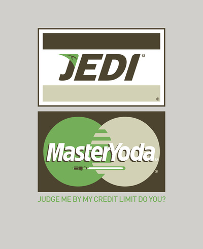 Star Wars Credit Card Logos
