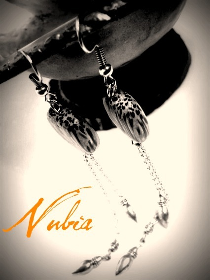 nubiajewelry:  www.nubiajewelry.etsy.com The Bahati earrings $12.00
