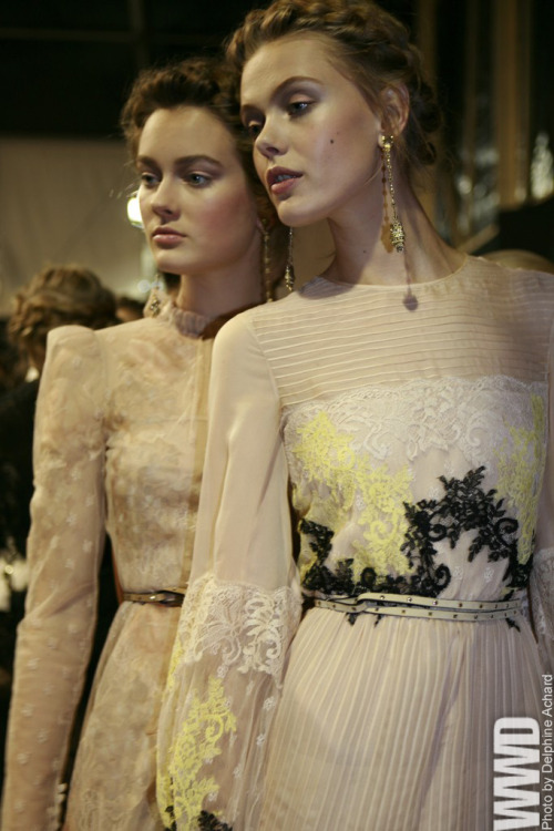 Valentino…. Gorgeous!! womensweardaily:  A Romantic Look at Valentino