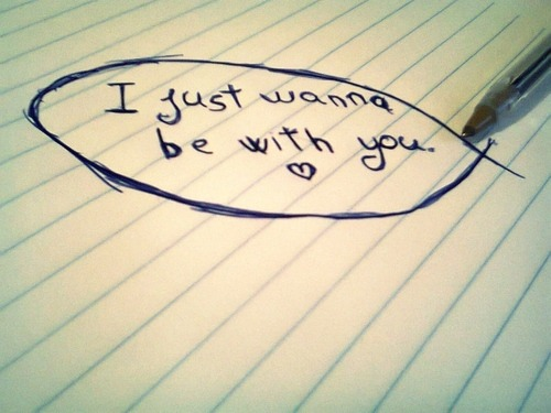 I wish I can say that to you…