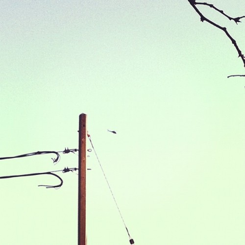 Black Helicopter (Taken with Instagram at Dundas Street Public School)