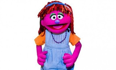 Meet Lily, a Walmart sponsored Muppet…and a spokesman for hunger issues.