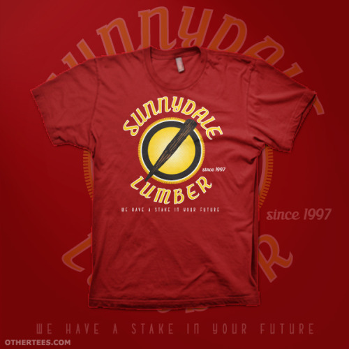 "othertees:  ""Sunnydale Lumber""  by Nerdster Design Vote for it to be printed by OtherTees !"