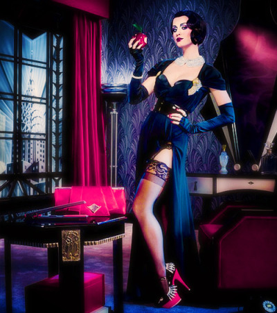 Katy Perry  / David LaChapelle for GHD
