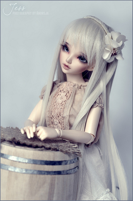 dollfierecipe:  Jess blue by ***Andreja*** on Flickr.