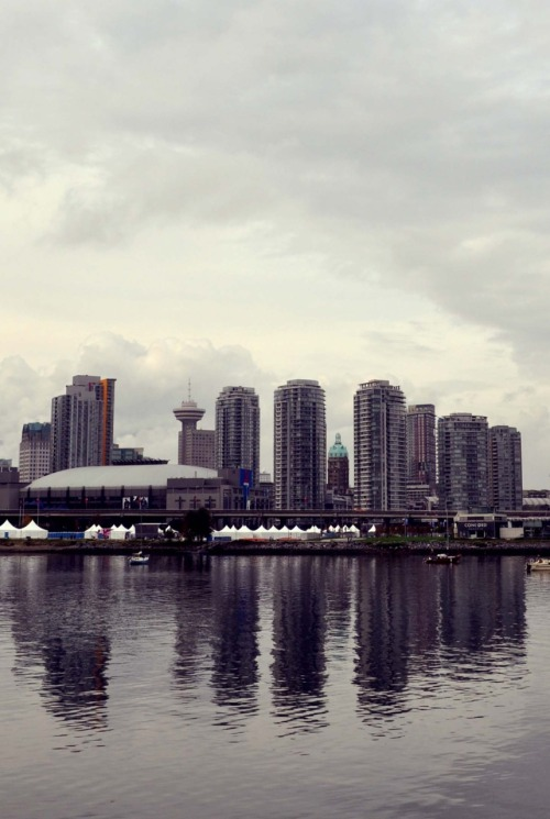 View of Vancouver from False Creek.
