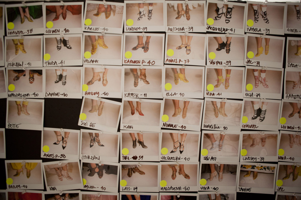 shoes! spring polaroids captured by william yan.