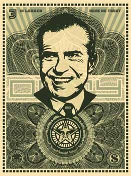 "obeyworldwidepropaganda:  ""Nixon Money"""