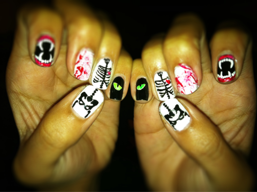 jazzyfantazzy:  I actually did both hands for once lol