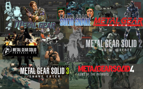 Oh hey there Metal Gear. How I love thee.