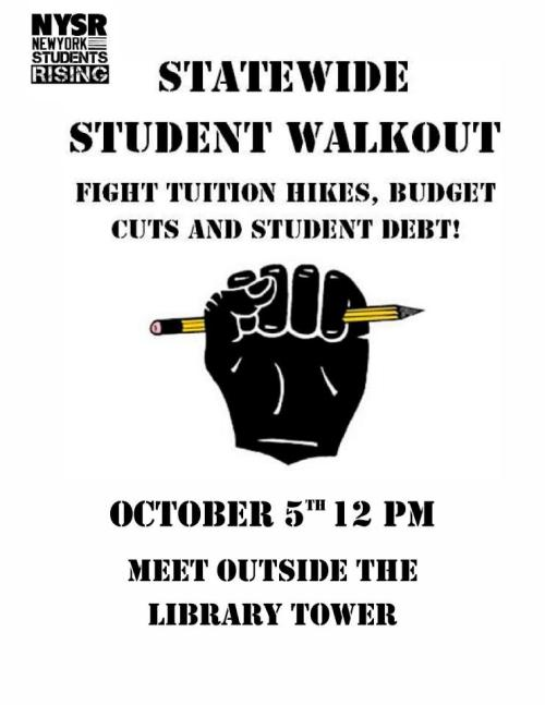 Tomorrow students will take a stand against the corporate university.