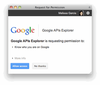 (via Google Plus Releases APIs for Search,  1s and Comments) This is big news that was buried in the iphone junk news of the day.  This is turning into a more robust API than I was anticipating. It looks like Google+ might break the box with the API as well. Probably a much more significant announcement than the Apple one.