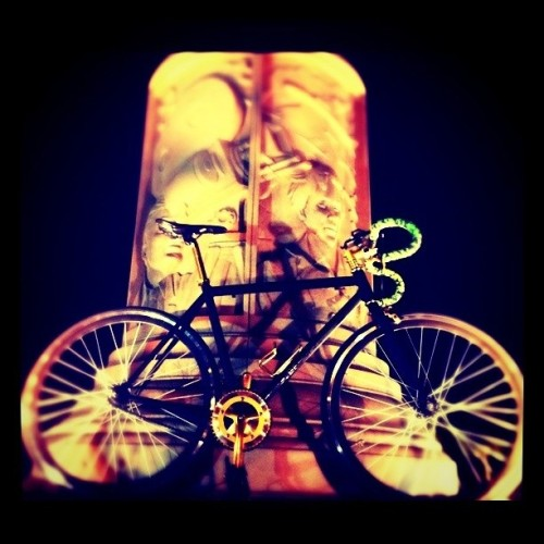 My bike #fixie (Taken with instagram)