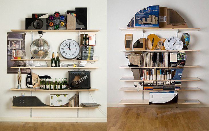 lovedesignlife:  Skull Shelves - by James Hopkins (via design attractor)
