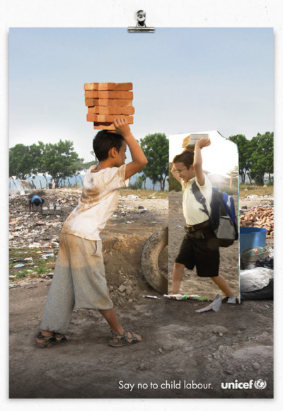 Say NO to child labour!