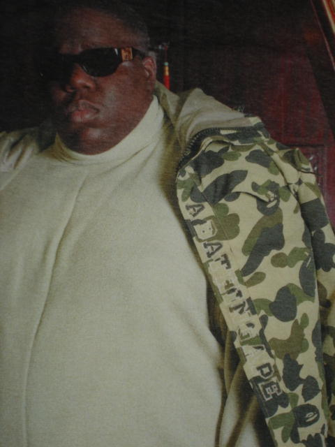 Biggie Rocking Vintage Bape