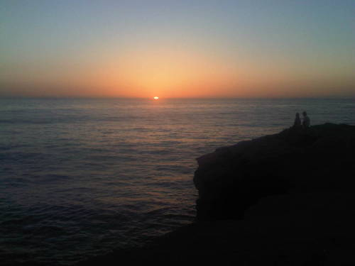 mellowmushrooms:  one of my favorite spots in california. sunset cliffs, san diego.   One of my main goals right now is to see a west coast sunset. <3