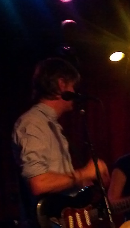 It sucks that this is the best picture I got of Stephen Malkmus, but I can personally confirm that he is a DILF.