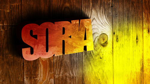 so9ria:  Wallpaper: Soria 3D-Text Software: PS & AI