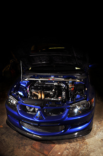 becauseracecar:  808lcarslchicksletc:  Stm's Mitsubishi Evo 8 by Evano Gucciardo on Flickr.  STM, you never fail to amaze me.
