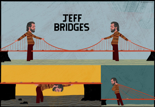 Jeff Bridges…So Many Bridges (via oldblueeyes)