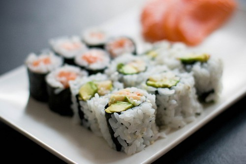 daizyspray:  g-oldenn:  recklessasylum:  m-i—l-k:  sushi and avo, nuff said x love sushiii x   love avooo x  (via imgTumble)
