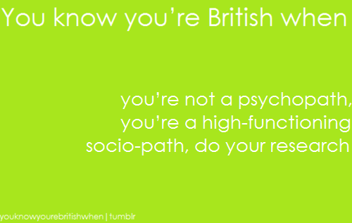 youknowyourebritishwhen:  http://charlottefielding.tumblr.com/  nah, this has reached overseas.