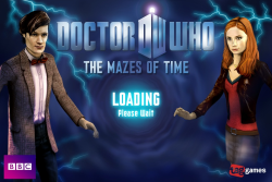 Doctor Who: Mazes of Time  Travel in time with The Doctor and Amy. Solve puzzles, 7 locations, Cybermen, Daleks, and Silurians.  New game pack added. Works with Game Center.   $1.99